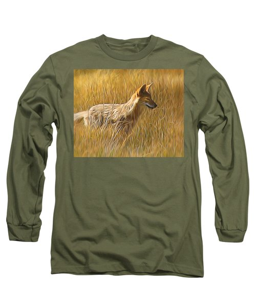Coyote Sunshine Long Sleeve T-Shirt
