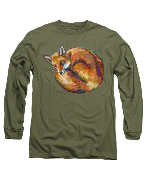 Coziest Fox Long Sleeve T-Shirt