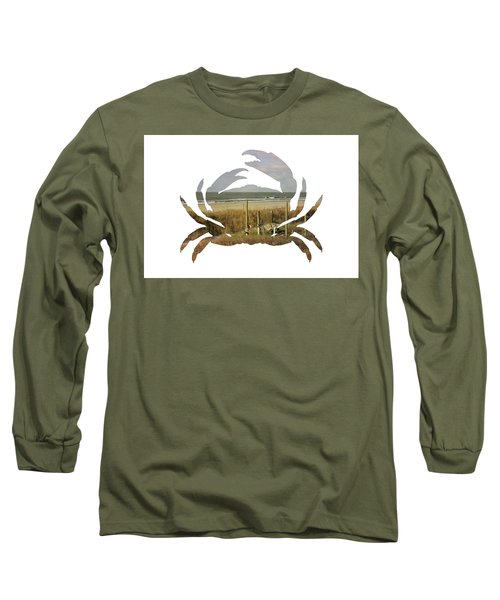 Crab Beach Long Sleeve T-Shirt