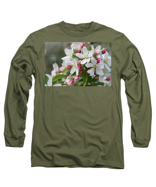 Crabapple Blossoms 12 - Long Sleeve T-Shirt