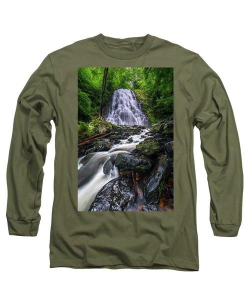 Crabtree Falls North Carolina Long Sleeve T-Shirt