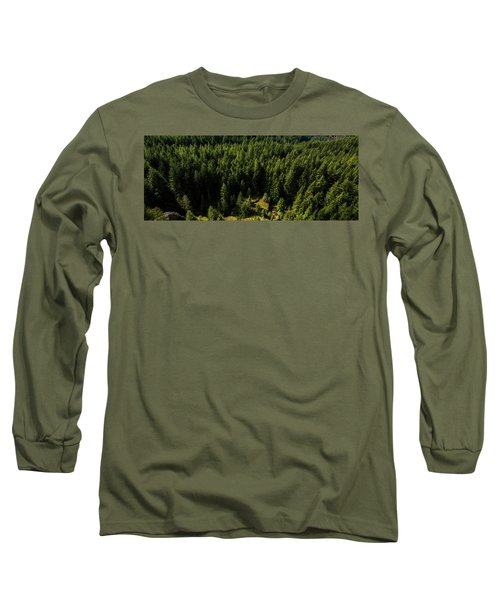 Cracked Rock In The Woods Long Sleeve T-Shirt