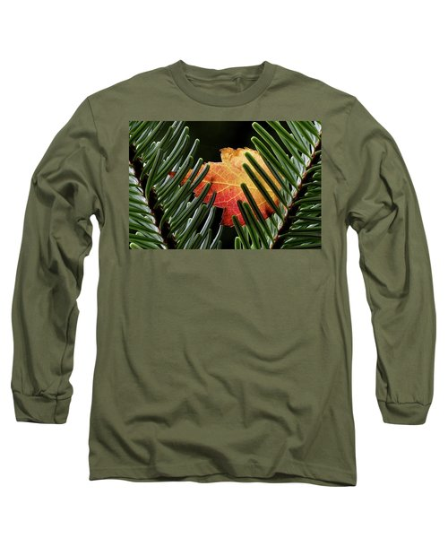 Cradled Long Sleeve T-Shirt