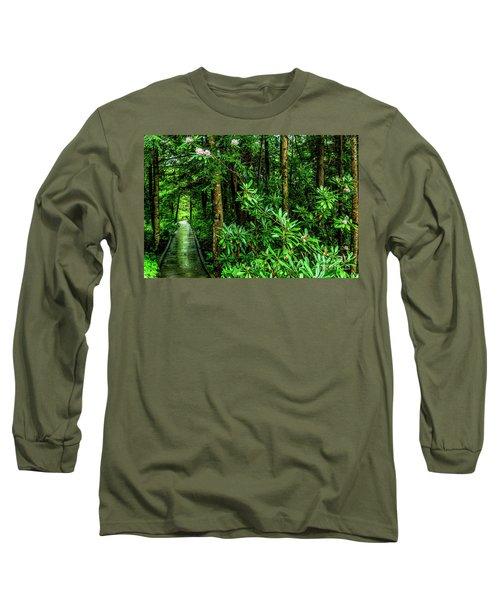 Cranberry Glades Boardwalk Long Sleeve T-Shirt