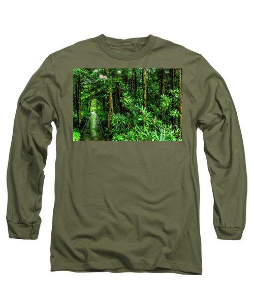 Cranberry Glades Boardwalk Long Sleeve T-Shirt