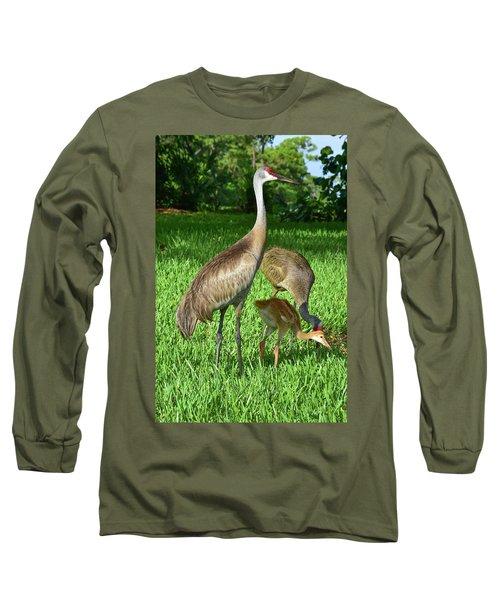 Crane Family Picnic Long Sleeve T-Shirt