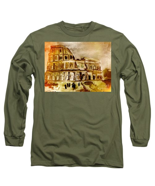 Crazy Colosseum Long Sleeve T-Shirt