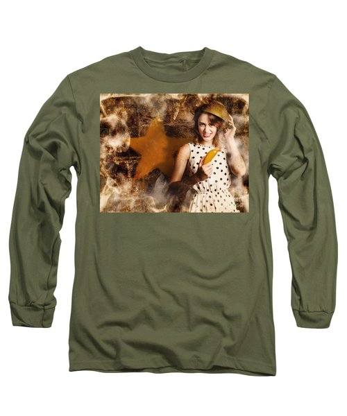 Creative Cooking Pin-up Long Sleeve T-Shirt