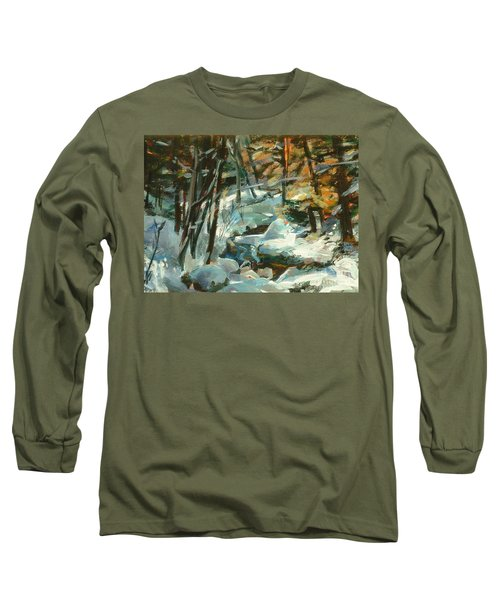 Creek In The Cold Long Sleeve T-Shirt