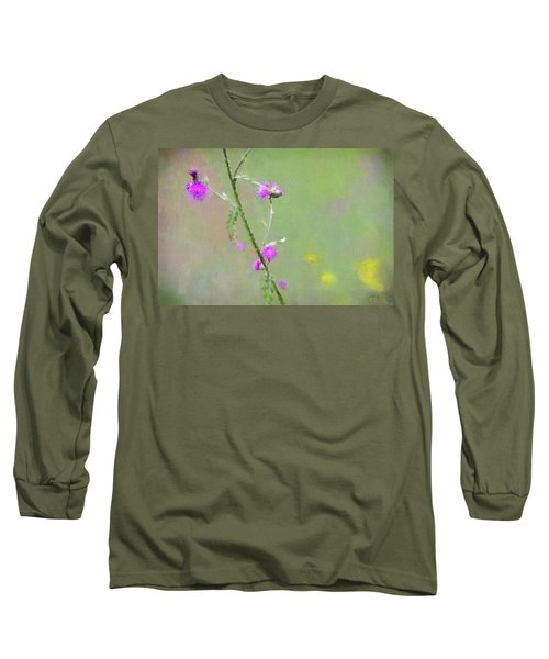 Creeping Thistle Long Sleeve T-Shirt