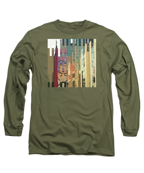 Crenellations Long Sleeve T-Shirt