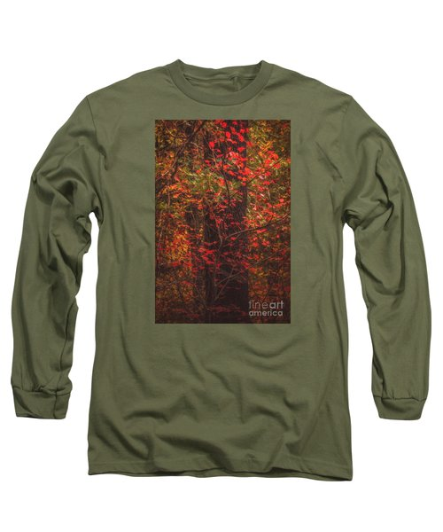 Crimson Fall Long Sleeve T-Shirt