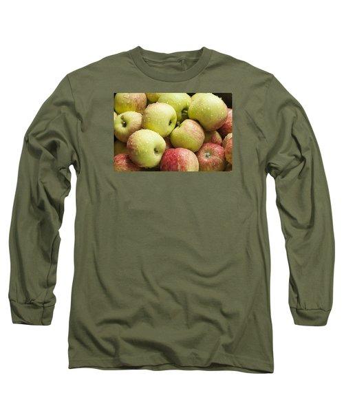 Crisp Wild Apples Long Sleeve T-Shirt