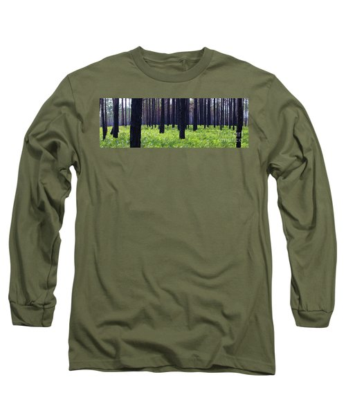 Springtime In The Croatan National Forest Long Sleeve T-Shirt