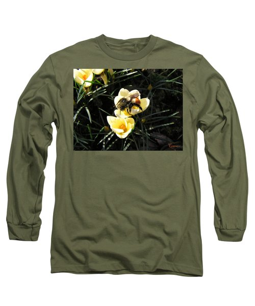 Crocus Gold Long Sleeve T-Shirt