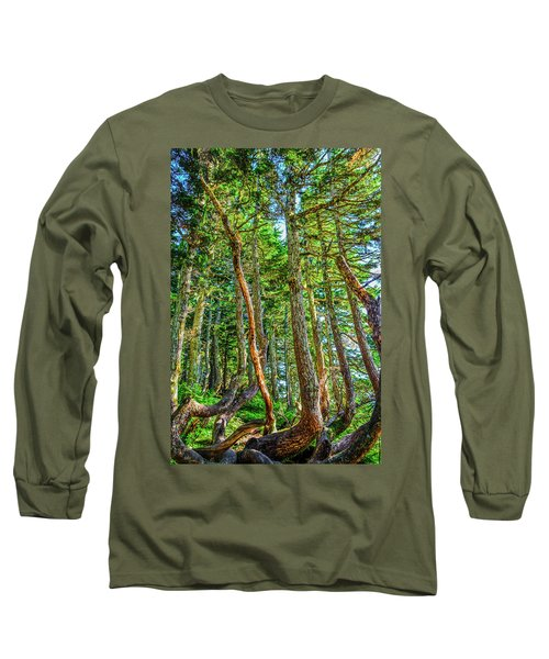 Crooked Trees Of Mt Roberts Long Sleeve T-Shirt
