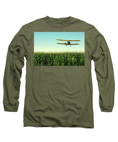 Crops Dusted Long Sleeve T-Shirt