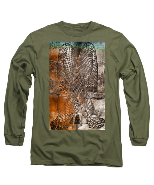 Cross Walk Long Sleeve T-Shirt