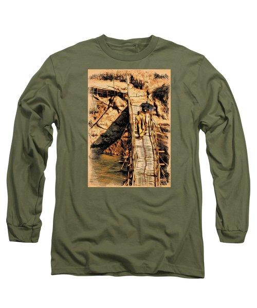 Crossing The Bridge Long Sleeve T-Shirt