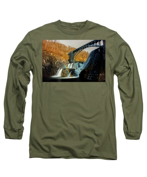Croton Dam Rainbow Spray Long Sleeve T-Shirt