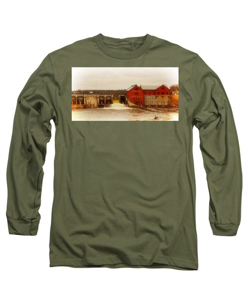 Croton Hydroelectric Plant Long Sleeve T-Shirt