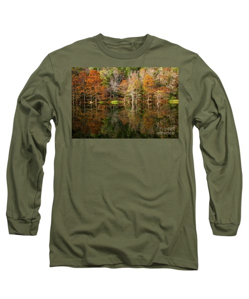 Crystal Clear Long Sleeve T-Shirt by Iris Greenwell