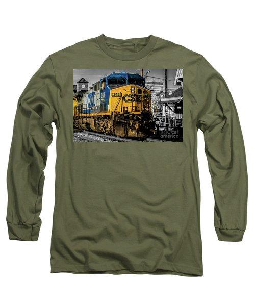 Csx Engine Gaithersburg Md Long Sleeve T-Shirt