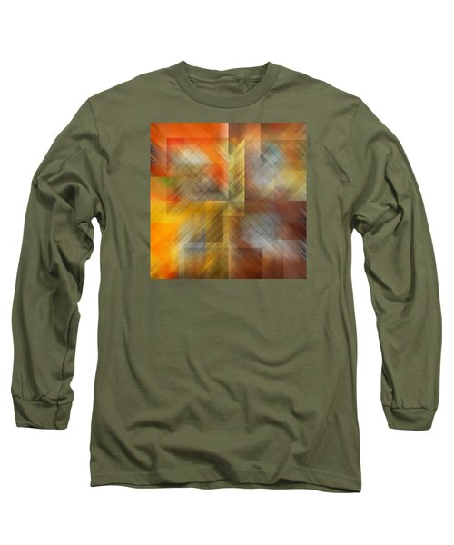 Long Sleeve T-Shirt featuring the photograph Cubic Space by Mark Greenberg