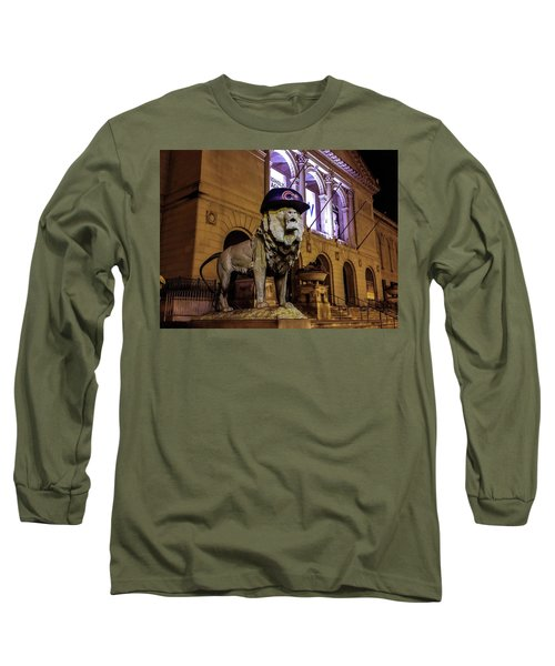 Cubs Lion Hearts Long Sleeve T-Shirt