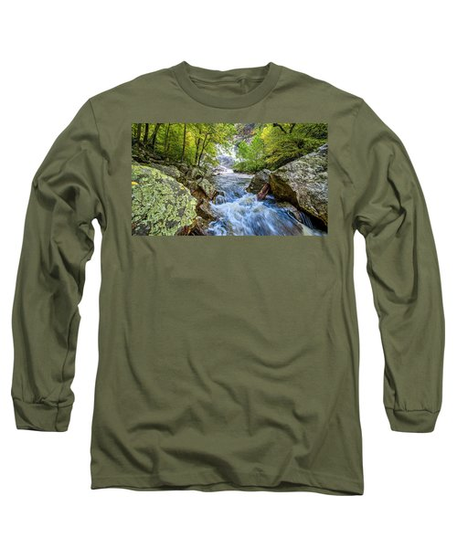 Cullasaja Falls Long Sleeve T-Shirt