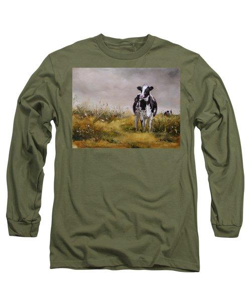 Curious Cow Long Sleeve T-Shirt