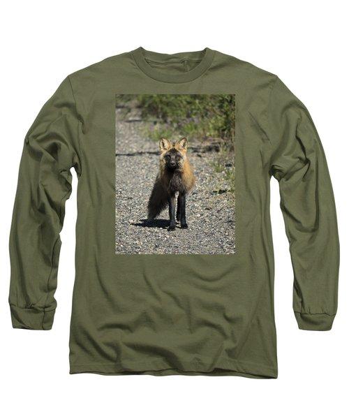 Curious Cross Long Sleeve T-Shirt