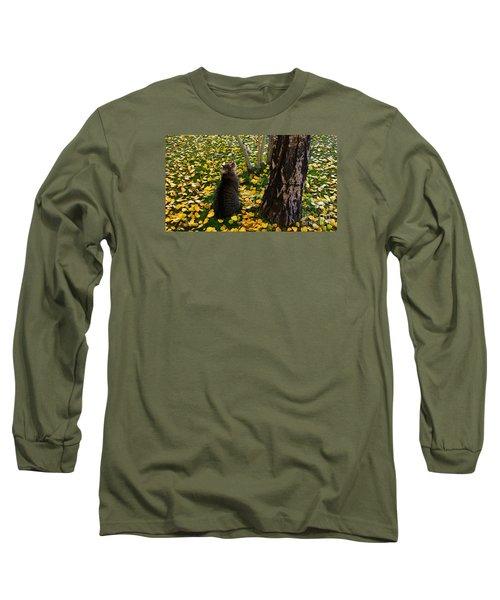 Curious  Long Sleeve T-Shirt by Janice Westerberg