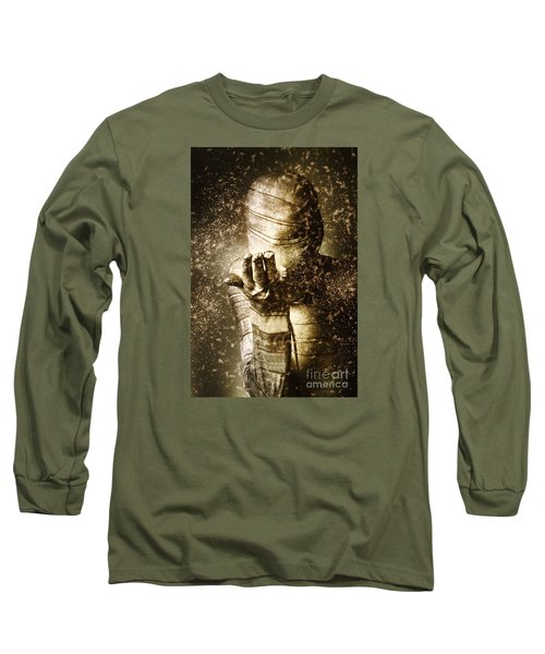 Curse Of The Mummy Long Sleeve T-Shirt by Jorgo Photography - Wall Art Gallery