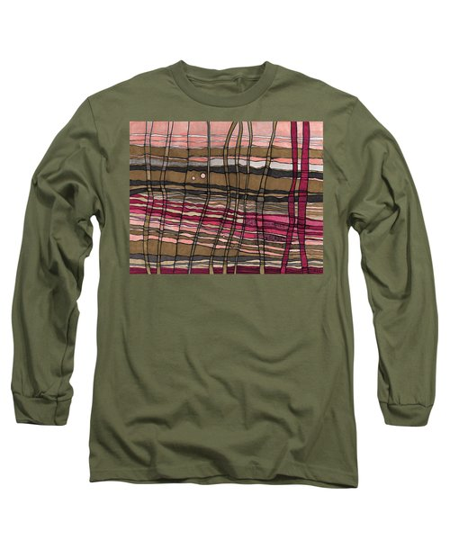 Stalks At Sunset Long Sleeve T-Shirt