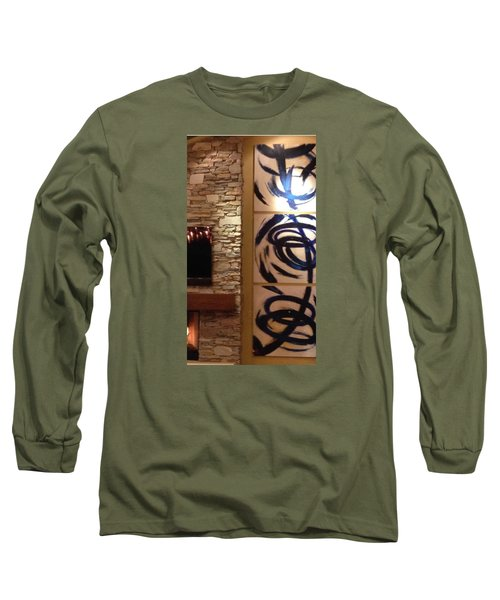 Custom Long Sleeve T-Shirt by Heather Roddy