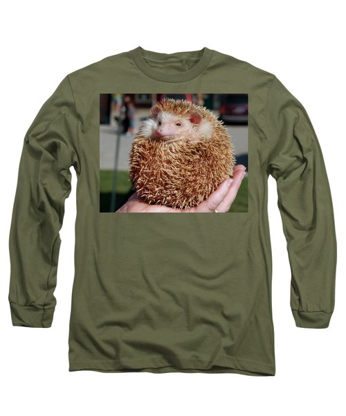 Cute Little Hedge Ball Long Sleeve T-Shirt