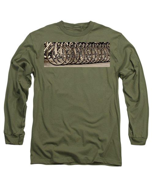 Cycles Long Sleeve T-Shirt by Joe Bonita