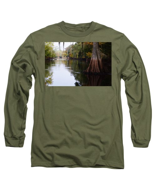 Cypress High Water Mark Long Sleeve T-Shirt by Warren Thompson
