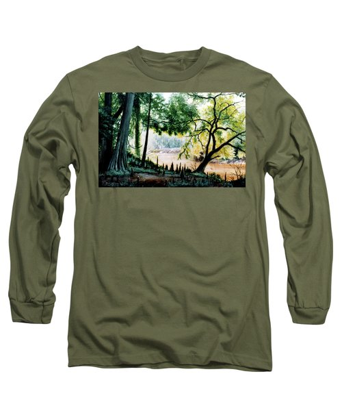 Cypress Knees Long Sleeve T-Shirt