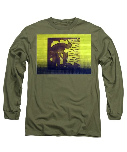 D U Rounds Project, Print 11 Long Sleeve T-Shirt