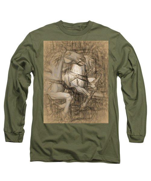 Da Vinci Carousel Long Sleeve T-Shirt
