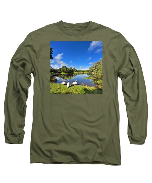 Dafen Pond Long Sleeve T-Shirt