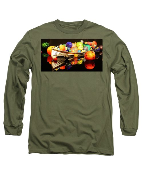 Glass Sculpture Boat Long Sleeve T-Shirt
