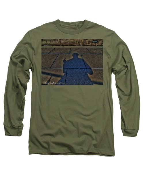 Damn Shadow Figure Long Sleeve T-Shirt