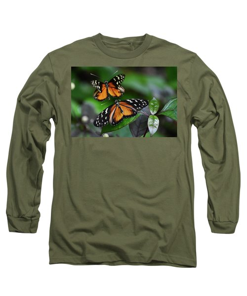Dance Of Butterflies Long Sleeve T-Shirt