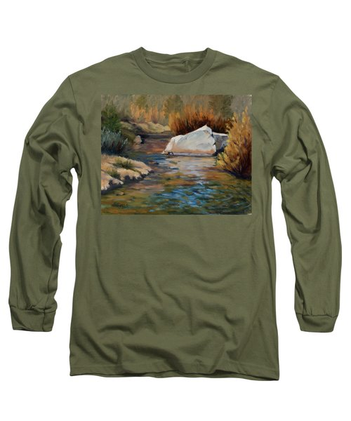 Dance Of Light On Bishop Creek Long Sleeve T-Shirt