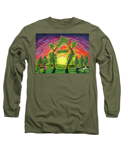 Dance Of Sunset Long Sleeve T-Shirt