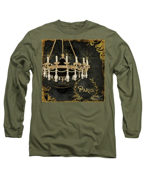 Long Sleeve T-Shirt featuring the painting Dance The Night Away 2  by Audrey Jeanne Roberts