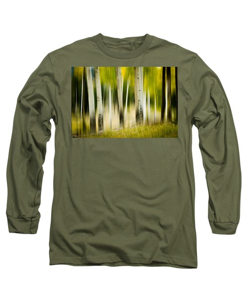 Dancing Aspens Long Sleeve T-Shirt
